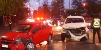 Un lesionado y alta congestión dejó accidente vehicular en Avenida La Florida