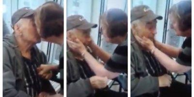 Triunfó el amor: ancianos separados tras 62 años de matrimonio lograron reunirse