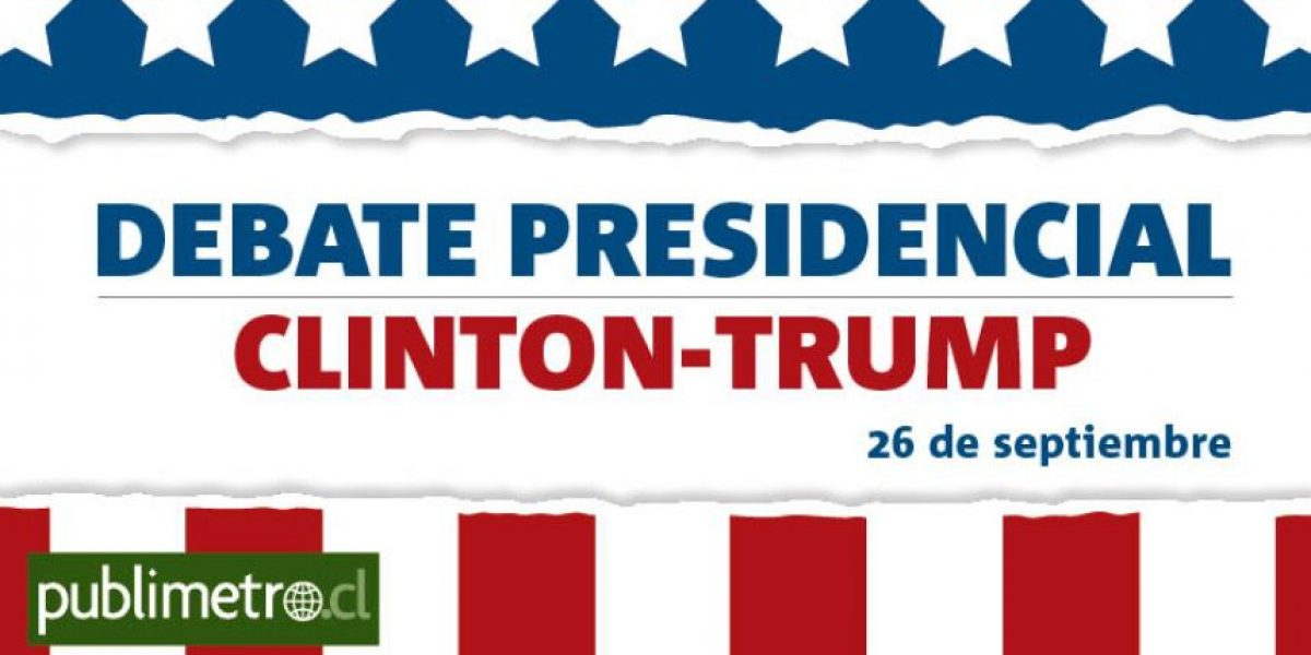 Infografía: Debate presidencial Clinton-Trump
