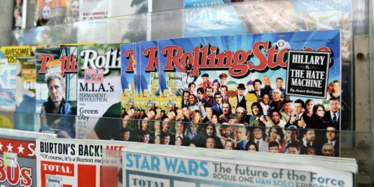 Una start-up compra el 49% de la revista Rolling Stone