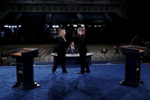 Todo está listo para el primer debate presidencial Foto:Getty Images. Imagen Por: