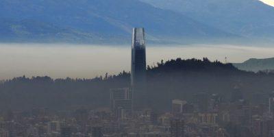 Mapa de la contaminación mundial deja a Santiago fuera de las ciudades más críticas