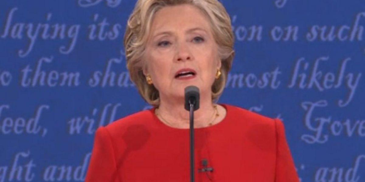 La reacción de Hillary Clinton tras dura crítica de Trump a su temperamento