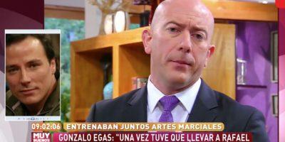 """Gonzalo Egas sobre Garay: """"El alcoholismo que tenía Rafael es una enfermedad"""""""