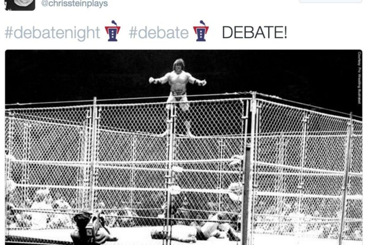 Un debate alternativo Foto:Twitter. Imagen Por: