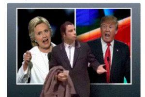 Esto son algunos de los memes que dejó el debate presidencial Foto:Twitter. Imagen Por:
