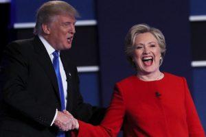 Esta noche se realizó el primer debate entre Hillary Clinton y Donald Trump Foto:Getty Images. Imagen Por: