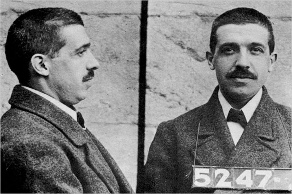 Carlo Ponzi.. Imagen Por: