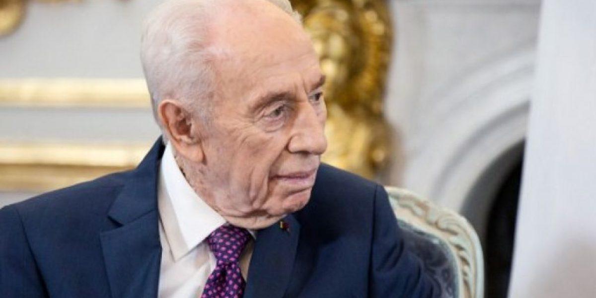 Falleció ex presidente de Israel y premio Nobel Shimon Peres a los 93 años