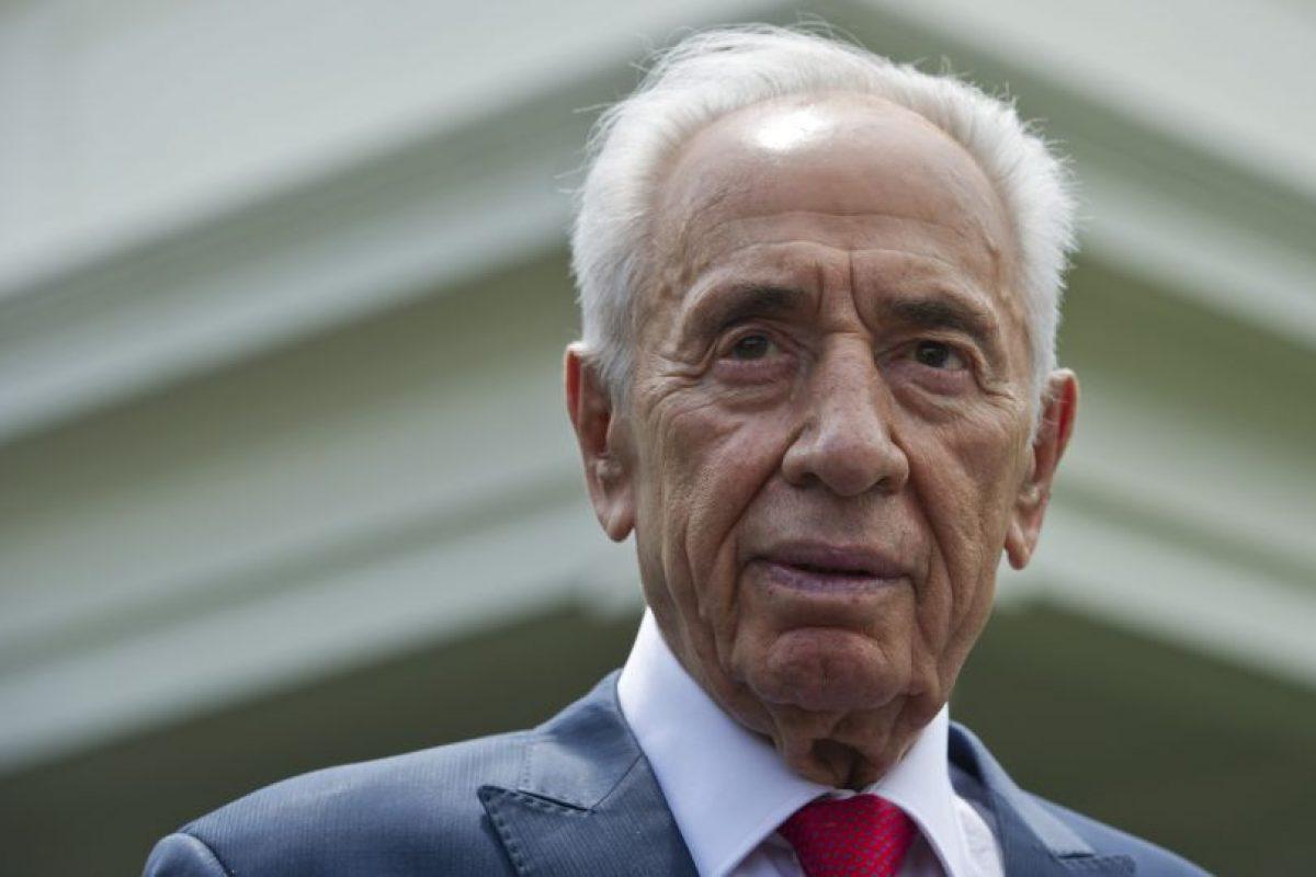 Al político se le reconoce por haber participado de los acuerdos de Oslo firmados con los palestinos en los años 90. Foto:Afp. Imagen Por: