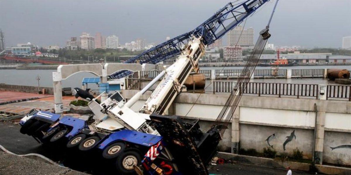Al menos cuatro muertos y más de 500 heridos en Taiwán tras paso del tifón Megi