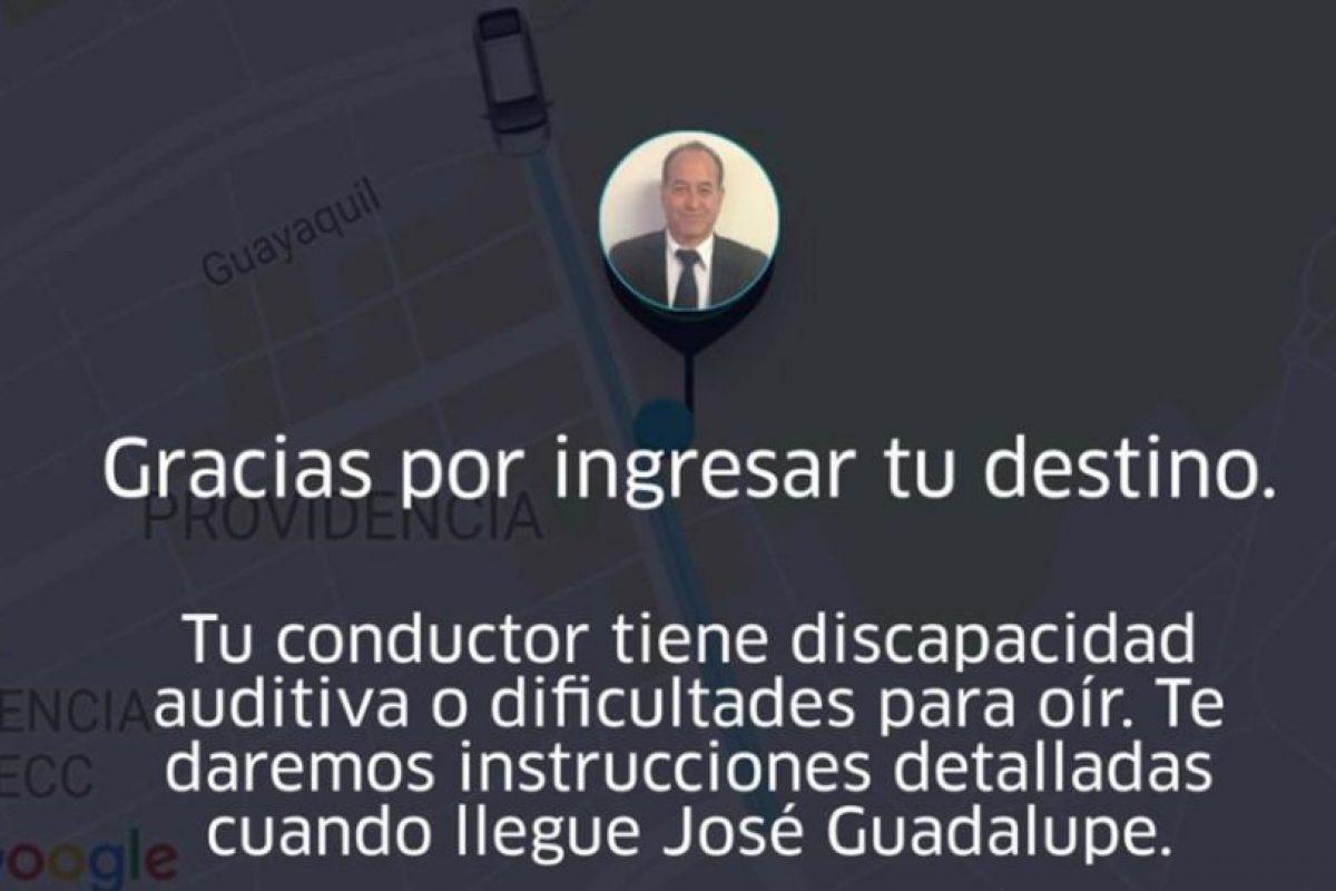 En la carta el pasajero detalla lo que le ocurrió el 26 de septiembre con el conductor de Uber, quien le confidenció que diariamente le cancelan cerca de 20 viajes sólo por su discapacidad. Foto:Reproducción. Imagen Por: