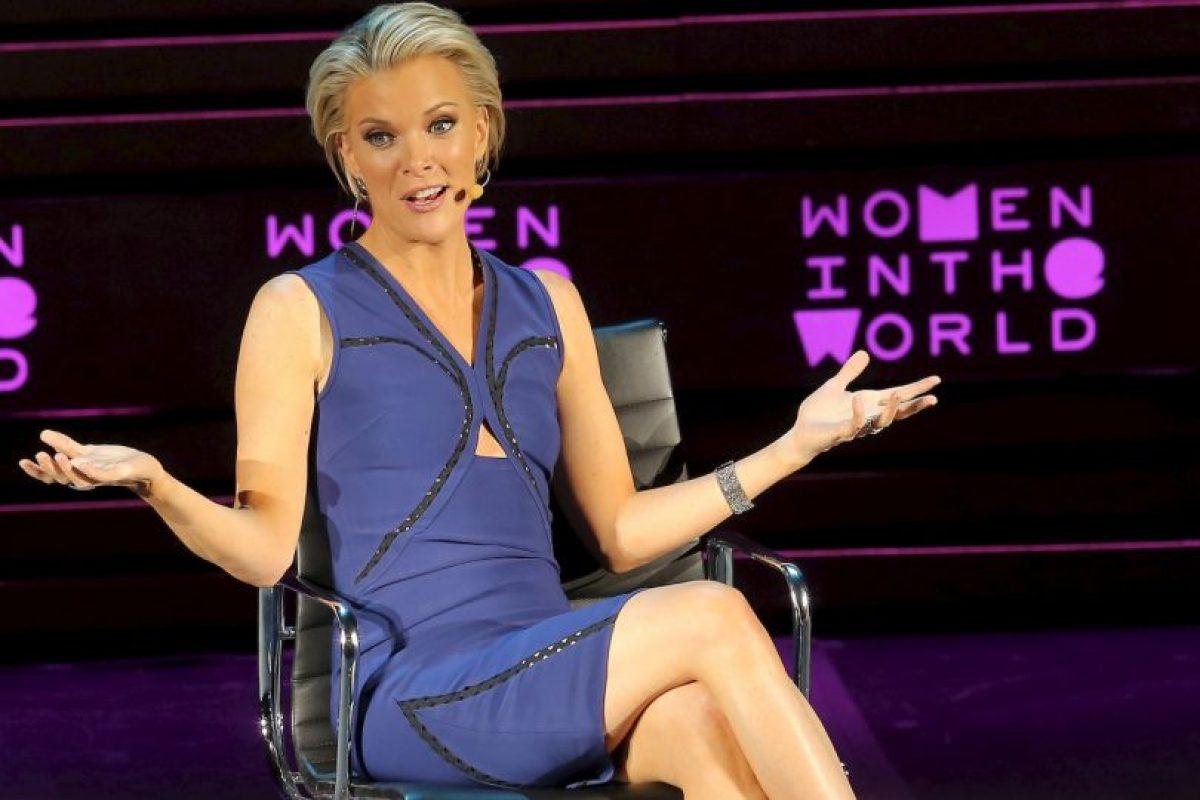 Megyn Kelly, presentadora de Fox News Foto:Getty Images. Imagen Por: