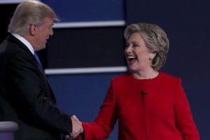 Hillary Clinton le recordó sus declaraciones misóginas Foto:Getty Images. Imagen Por:
