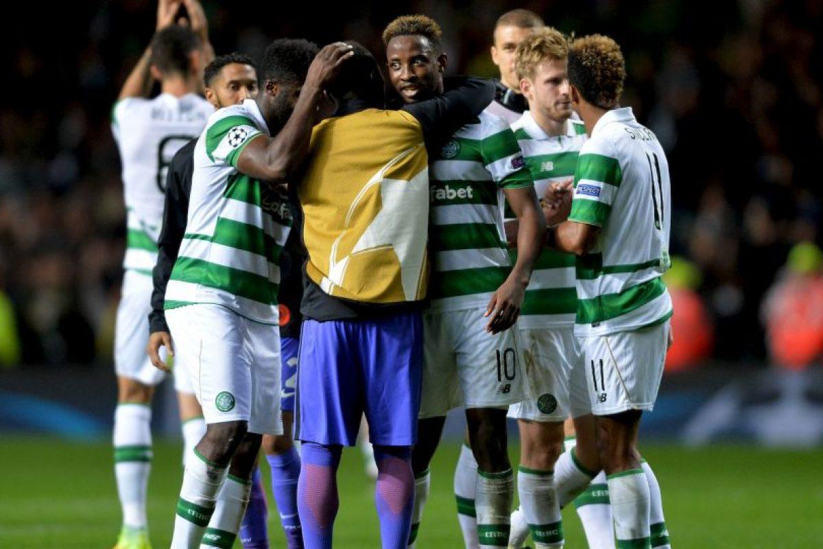 Celtic fue el encargado de amargar a los Citizens Foto:Getty Images. Imagen Por: