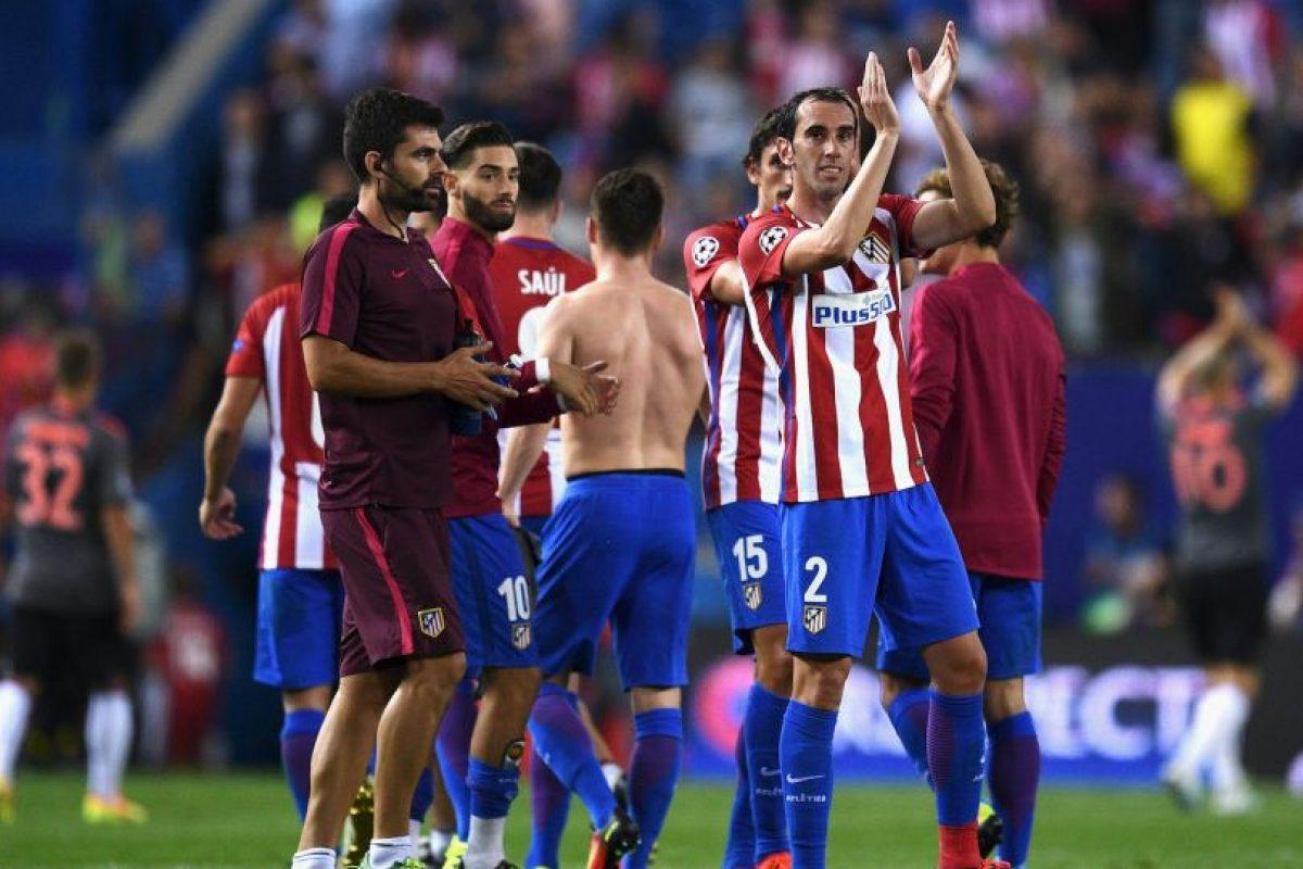Los Colchoneros vencieron por 1 a 0 al equipo de Carlo Ancelotti Foto:Getty Images. Imagen Por: