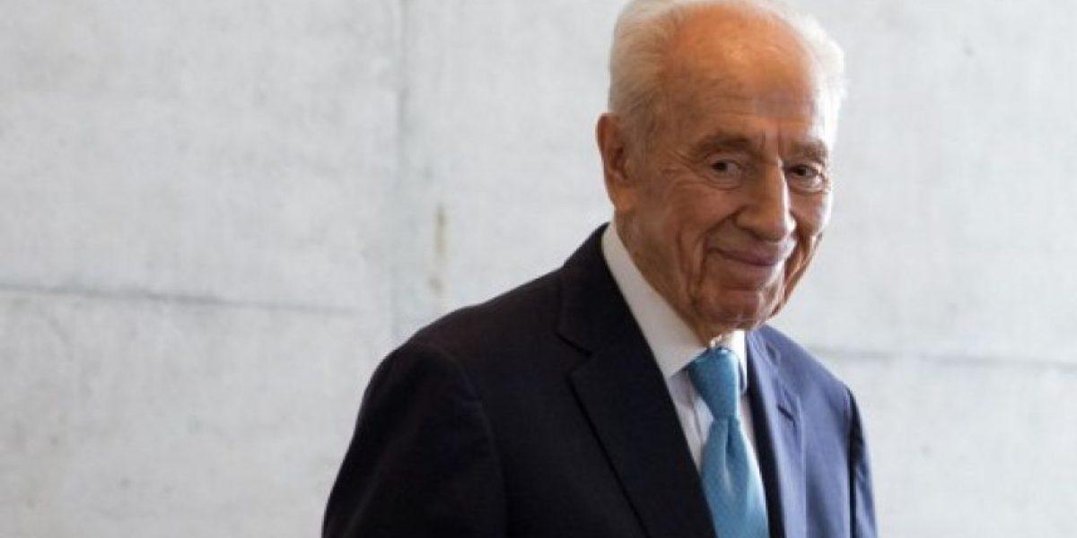 Gobierno lamenta muerte del ex presidente israelí Shimon Peres y envía delegación a funeral