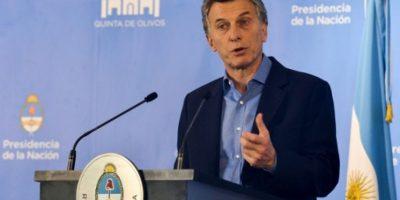 Presidente Macri admite que uno de cada tres argentinos es pobre