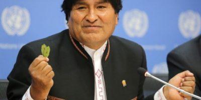 Evo Morales quiere aprobar nueva ley para la hoja de coca