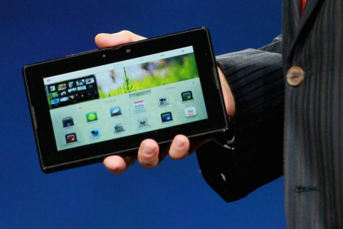 BlackBerry PlayBook Foto: Archivo Getty. Imagen Por: