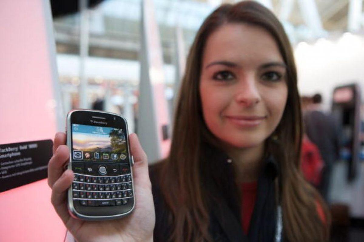 BlackBerry Bold 9000 Foto:Archivo Getty. Imagen Por: