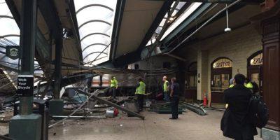 Tren se estrella contra estación en Nueva Jersey deja al menos tres muertos y un centenar de heridos