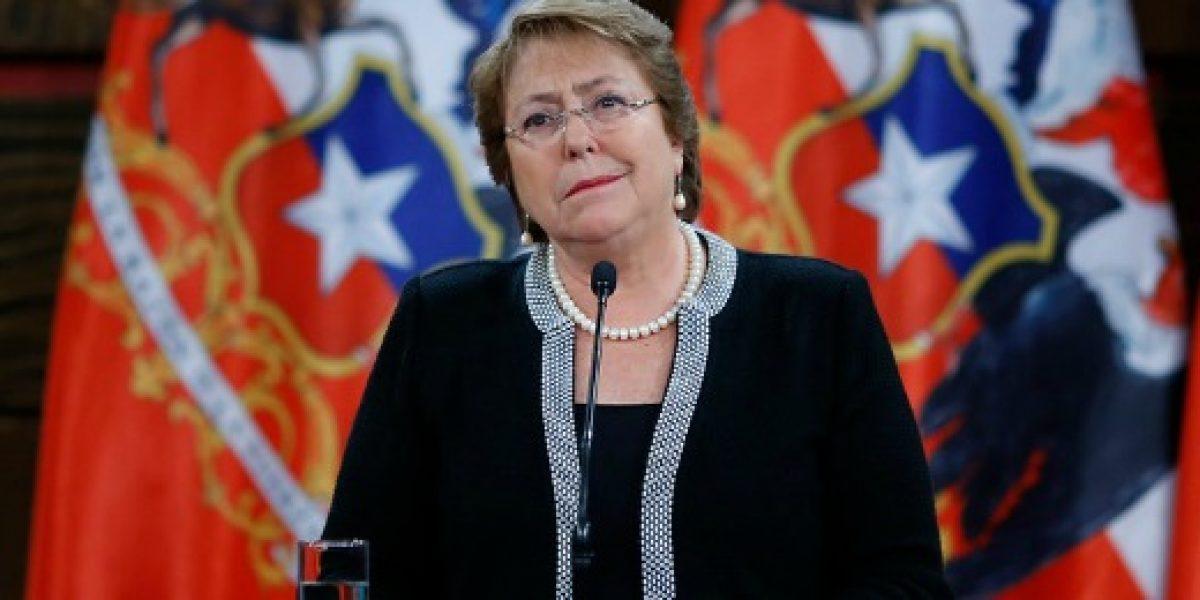 Presidenta Bachelet dará detalles del presupuesto 2017 en cadena nacional