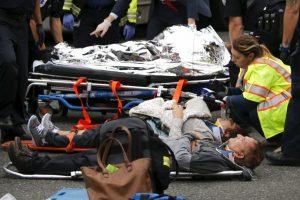 Además de tres heridos de gravedad Foto:Getty Images. Imagen Por: