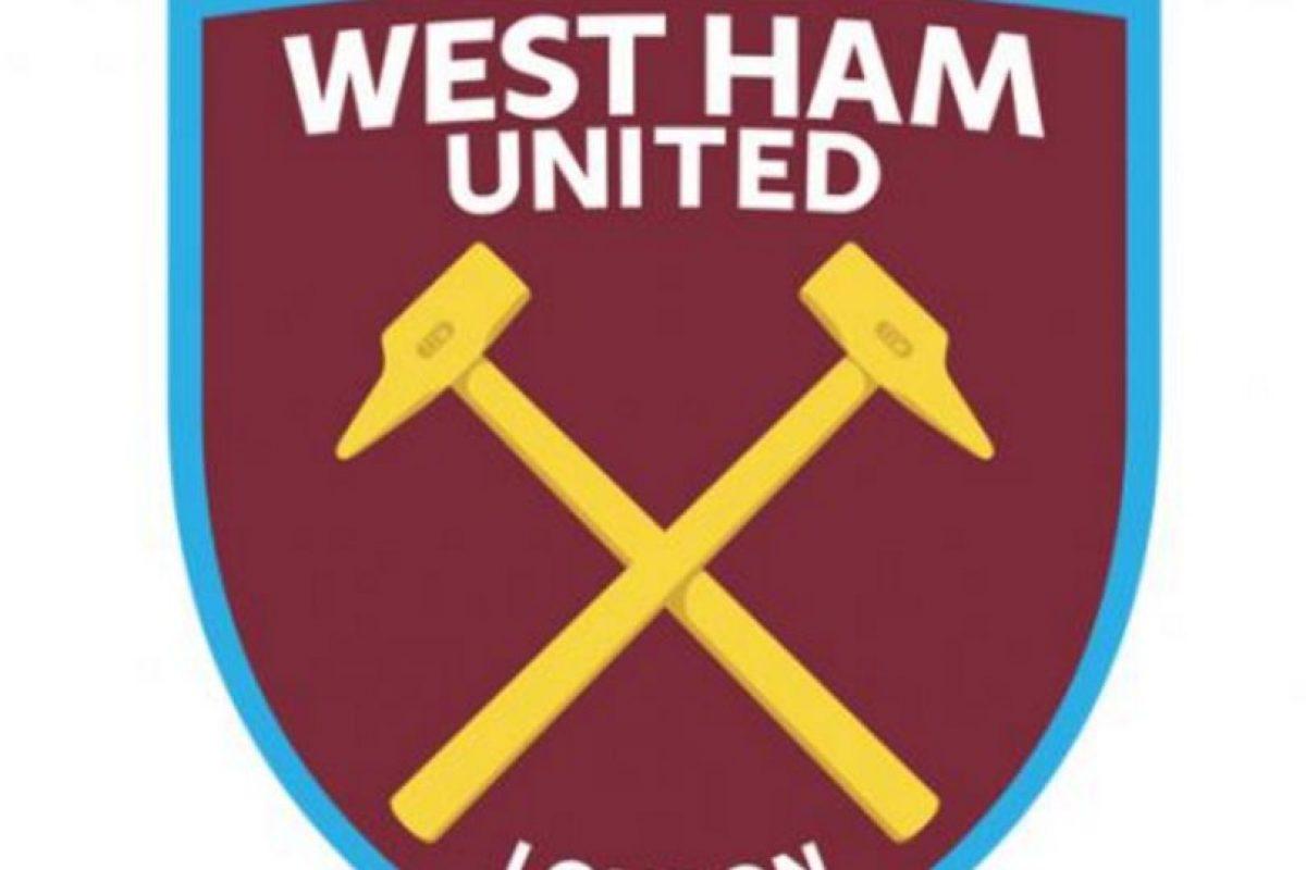 16.-West Ham United (Inglaterra) Foto:Reproducción. Imagen Por: