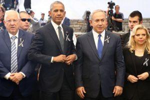 """En su larga y emotiva alocución, que se prolongó cerca de media hora, Obama agradeció al presidente palestino, Mahmud Abás, su participación en el sepelio y dijo que su presencia era """"un gesto y testimonio del inacabado negocio de la paz"""", que Peres tanto defendió. Foto:Afp. Imagen Por:"""