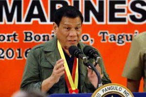 """""""Si Alemania tenía a Hitler, Filipinas tendrá mis víctimas, que querría que fueran todos los criminales para acabar con el problema de este país y salvar a la próxima generación de la perdición"""", afirmó el mandatario. Foto:Efe. Imagen Por:"""