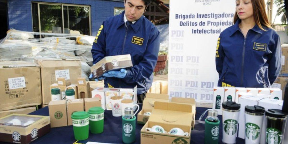 Un sabor amargo: operativo de la PDI retiró más de seis mil tazones de café falsificados