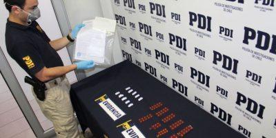 PDI detuvo a sujeto que vendía drogas a escolares con recetas médicas falsas