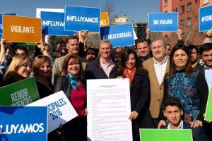 """El """"Compromiso Ético Municipal"""" de Influyamos ha sido firmado por 116 candidatos de distintos partidos políticos. Foto:Influyamos.cl. Imagen Por:"""