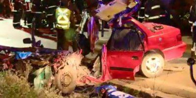 Accidente en Calera de Tango deja a dos lactantes y un adulto fallecidos