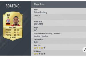8.- Jerome Boateng. Imagen Por: