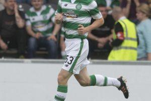 Kieran Tierney causó buenas sensaciones en el partido de Champions League Foto:Getty Images. Imagen Por: