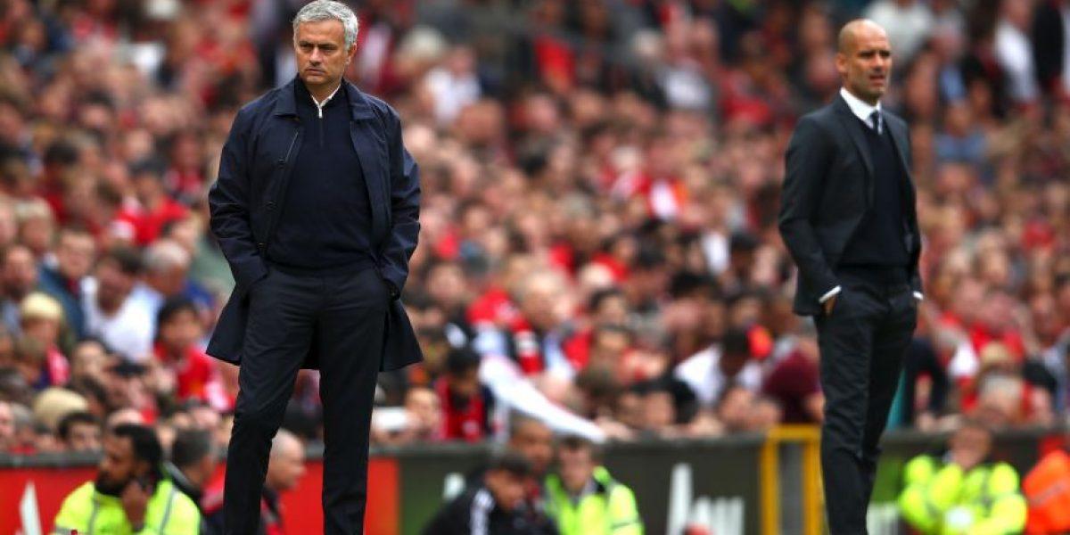 Mourinho y Guardiola en