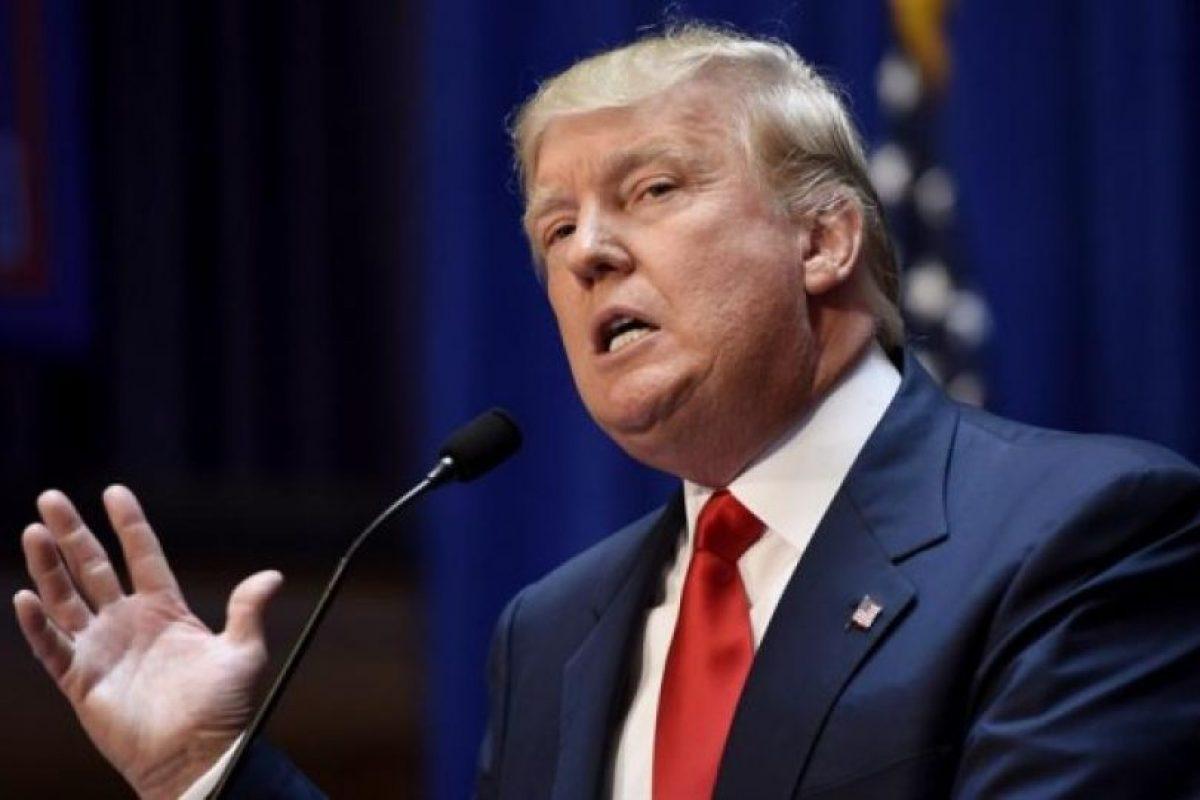 """""""Sea lo que sea lo que hagas, resiste a los cantos de sirena de un demagogo peligroso. Por supuesto vota, simplemente no lo hagas por Donald Trump"""", dice la editorial de USA Today. Foto:Efe. Imagen Por:"""