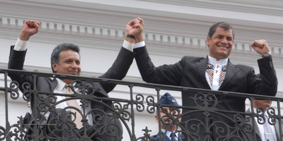 Rafael Correa proclamó a ex vicepresidente como posible sucesor en la presidencia de Ecuador