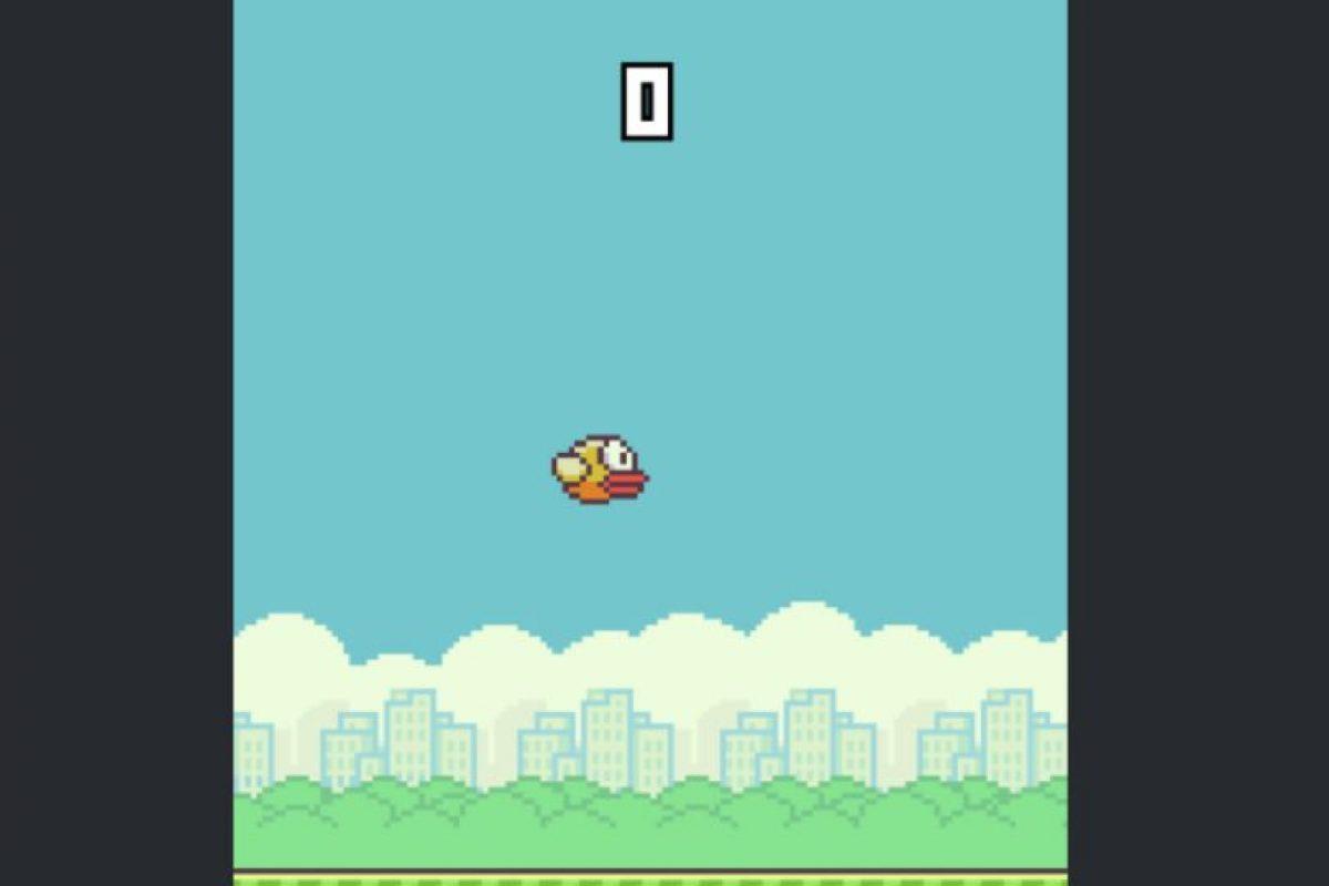 Flappy Bird es un juego que requiere mucha destreza. ¡Y es muy frustrante! Foto:flappybird.io. Imagen Por: