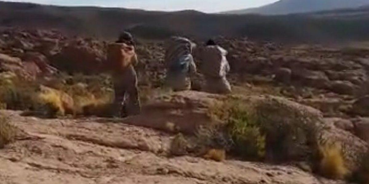 OS-7 detiene a burreros bolivianos con 50 kilos de droga a más de 4.000 metros de altura