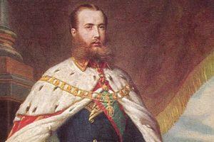 El emperador Maximiliano I de México.. Imagen Por: