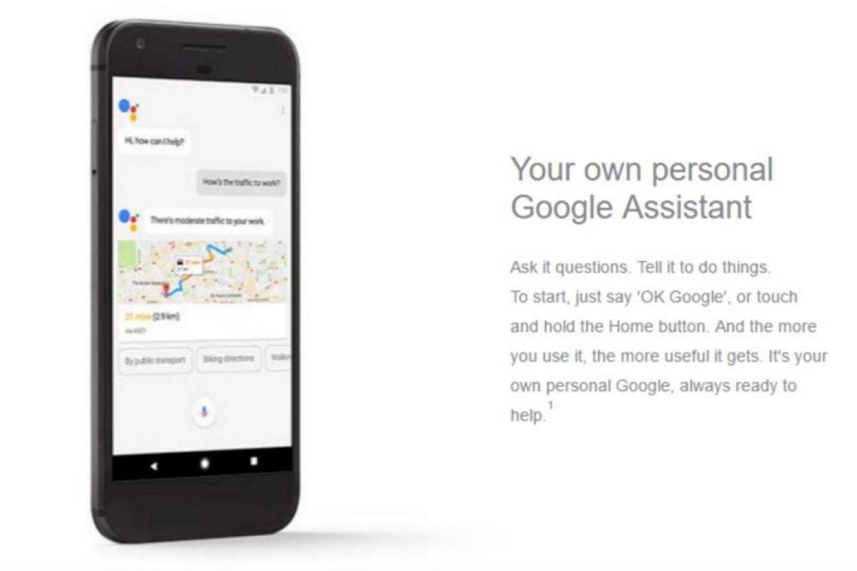 Google Pixel lega con asistente personal Foto:Carphone Warehouse/Google. Imagen Por: