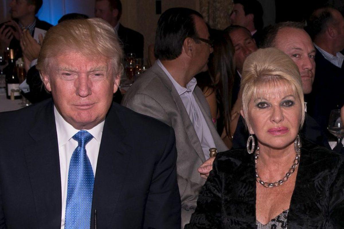 Ivana Trump, su primera esposa y madre de tres hijos: Donald Trump Jr, Ivanka y Eric Trump. Foto:Getty Images. Imagen Por: