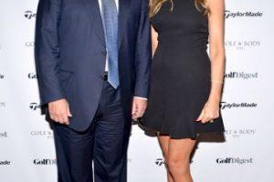 Melania Trump, su tercera esposa y madre de Barron Trump Foto:Getty Images. Imagen Por: