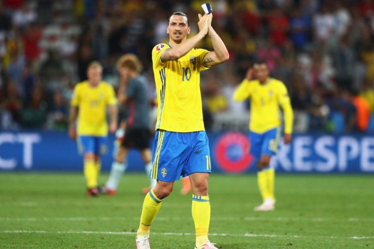 El delantero sueco siempre tiene algo que decir. Foto:Getty Images. Imagen Por:
