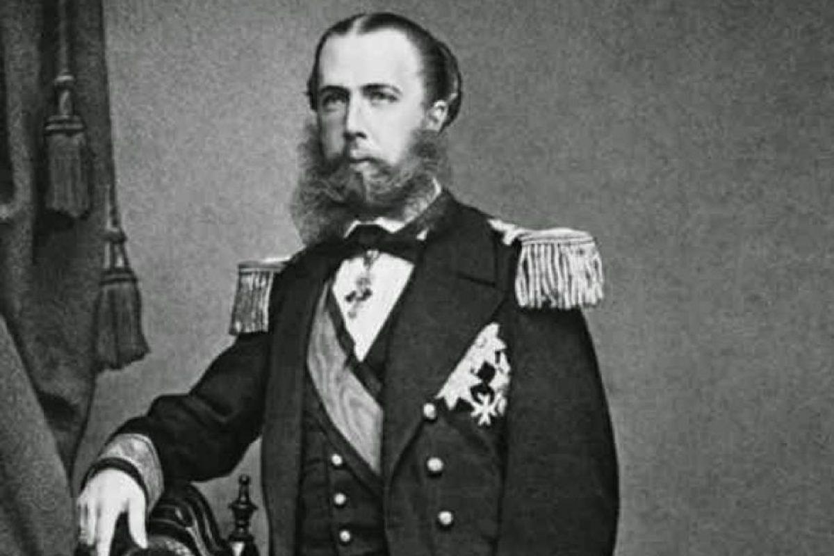 Una fotografía de Maximiliano como archiduque de Austria, antes de ser coronado como emperador mexicano.. Imagen Por: