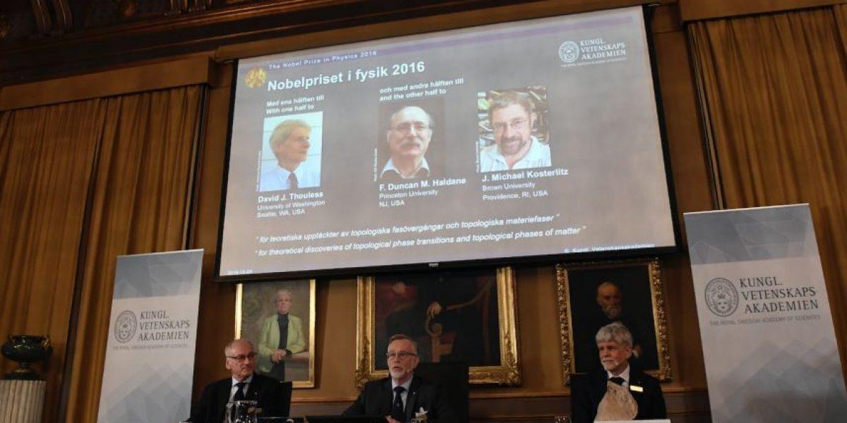 Premio Nobel de Física para tres británicos por sus investigaciones sobre la materia