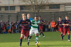 Nacido el 2003 en Costa de Marfil, llegó en 2013 al Celtic escocés . Foto:Paul Dolan-Flickr. Imagen Por: